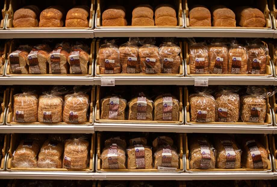 A loaf of bread needs 288 gallons of water to produce. According to the Water Footprint Network, 15 percent of total water footprint to all global crops went toward wheat production. Photo: Jasper Juinen, Bloomberg