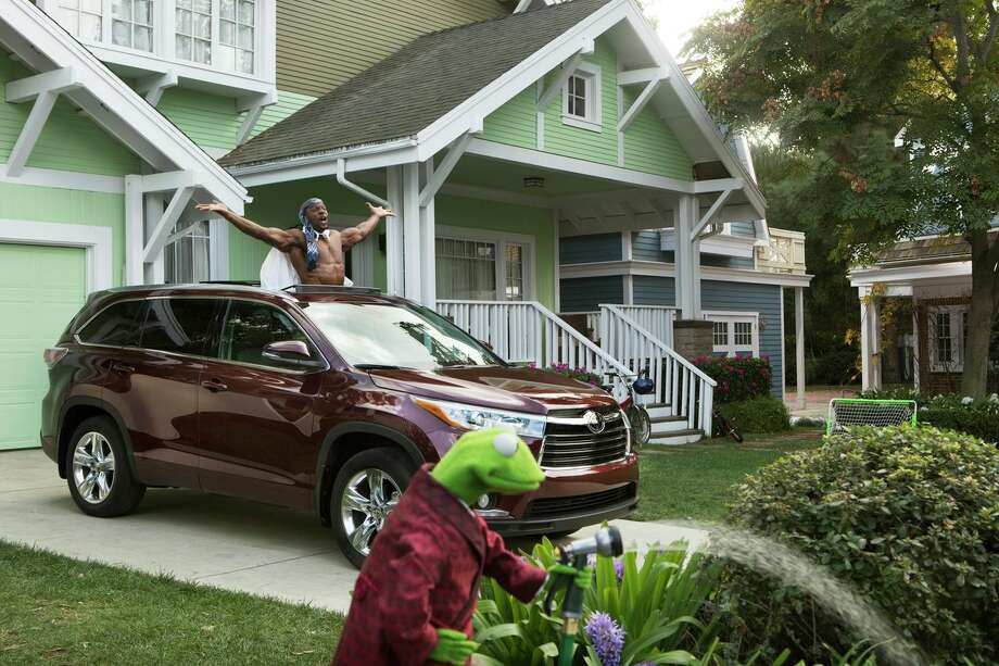 Toyota has enlisted the Muppets for this year's Super Bowl advertising campaign.  Click to the next slide to watch this commercial ... Photo: Associated Press / Toyota