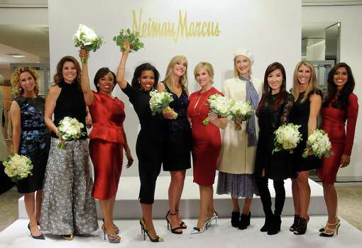 The Houston Chronicle's Best Dressed honorees pose for a photo at the 