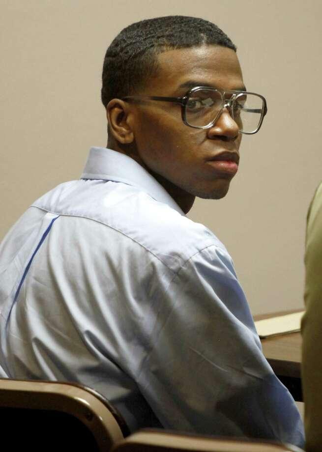 Lorenzo Leroy Thompson, 25, was convicted of capital murder in the death of Airman Vanessa Pitts, 25. Photo: San Antonio Express-News File Photo / © 2012 San Antonio Express-News