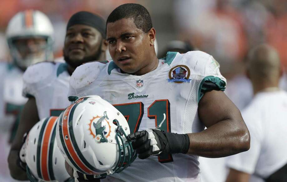 """Jonathan Martin said he was harassed by some Miami teammates and """"felt trapped, like I didn't have a way to make it right."""" Photo: Wilfredo Lee / Associated Press / AP"""