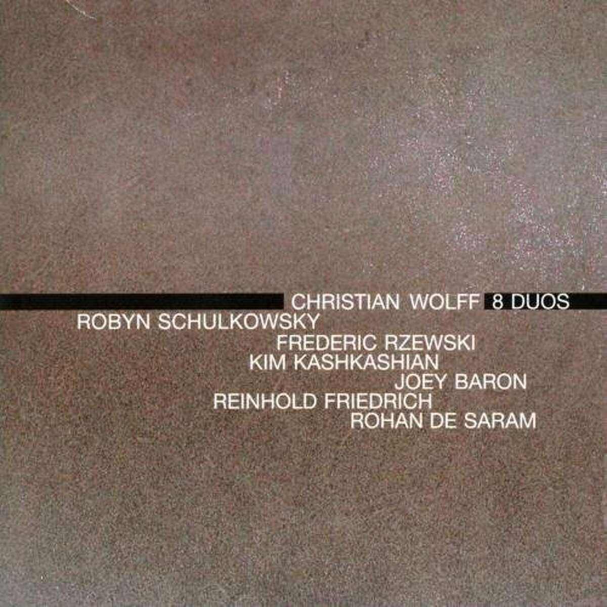 Christian Wolff CD cover