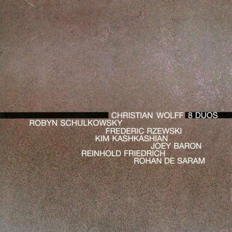 Christian Wolff CD cover Photo: New World