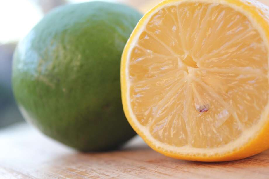 Lemon and/or lime juice destroys bacteria, purifies breath and helps with mucus buildup.  Just squeeze the juice out of your fruit-of-choice and mix with a tall glass of water.