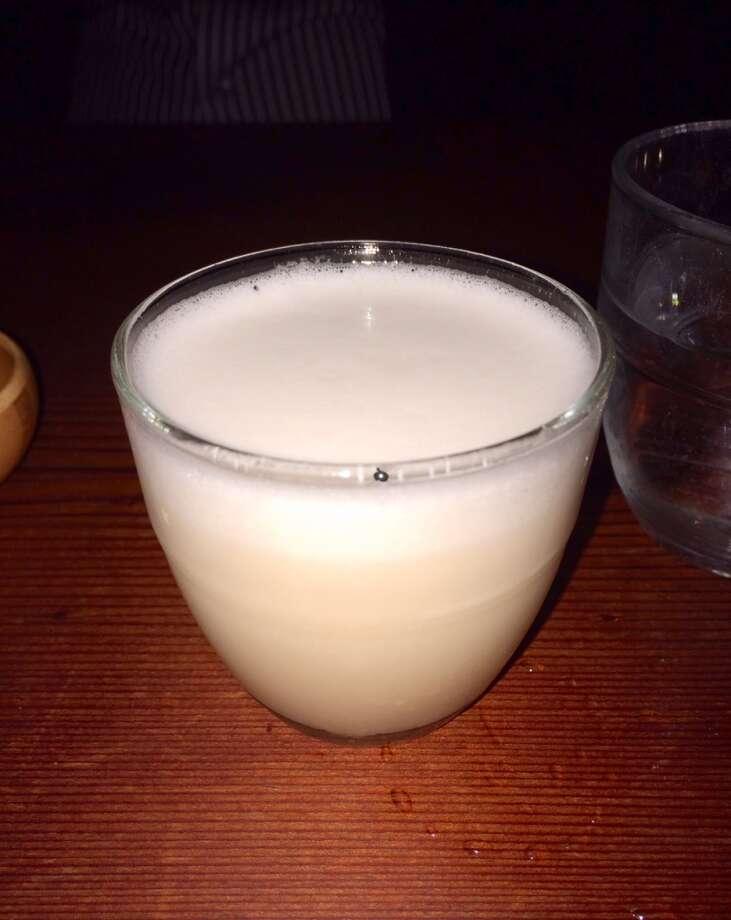 Tequila Reposado sour ($12)