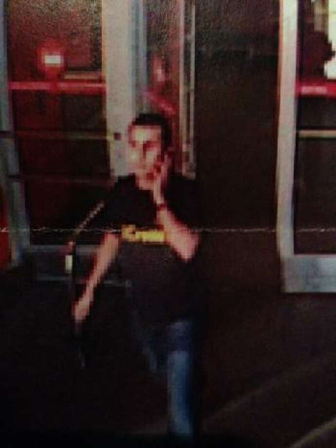 A surveillance camera captured this image of the suspect, Houston police say. Photo: HPD