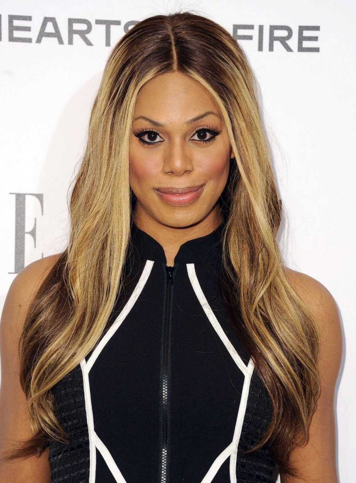 Laverne Cox attends ELLE's Annual Women in Television Celebration on January 22, 2014 in West Hollywood, California. (Photo by Michael Buckner/Getty Images for Elle)