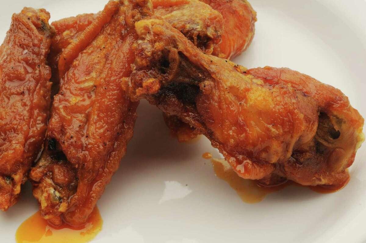 Rusty Nail was the Best of 2021 winner for best chicken wings. (Luanne M. Ferris / Times Union)