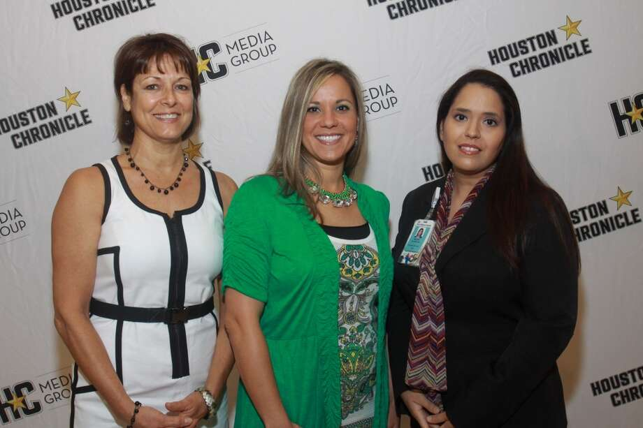(For the Chronicle/Gary Fountain, May 9, 2013) Darleen Yepes, from left, Amber Edwards and Melissa Silvera. Photo: For The Chronicle