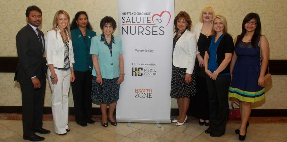 (For the Chronicle/Gary Fountain, May 9, 2013) Salute To Nurses luncheon. Photo: For The Chronicle