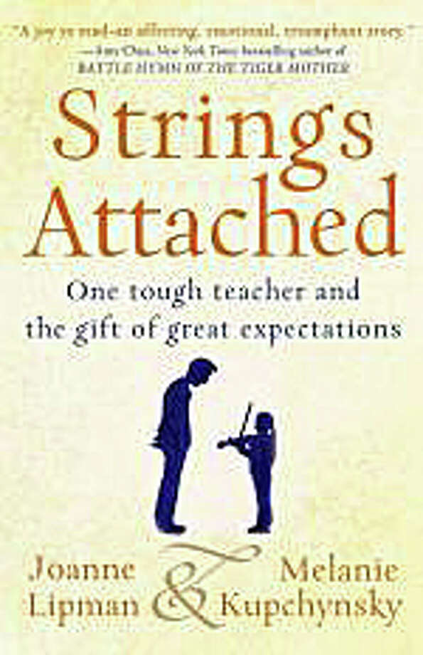 "Journalist Joanne Lipman and musician Melanie Kupchynsky will discuss their book, ""Strings Attached,"" about their teacher Jerry Kupchynsky in a talk Monday at the Westport Library. Photo: Contributed Photo / Westport News contributed"