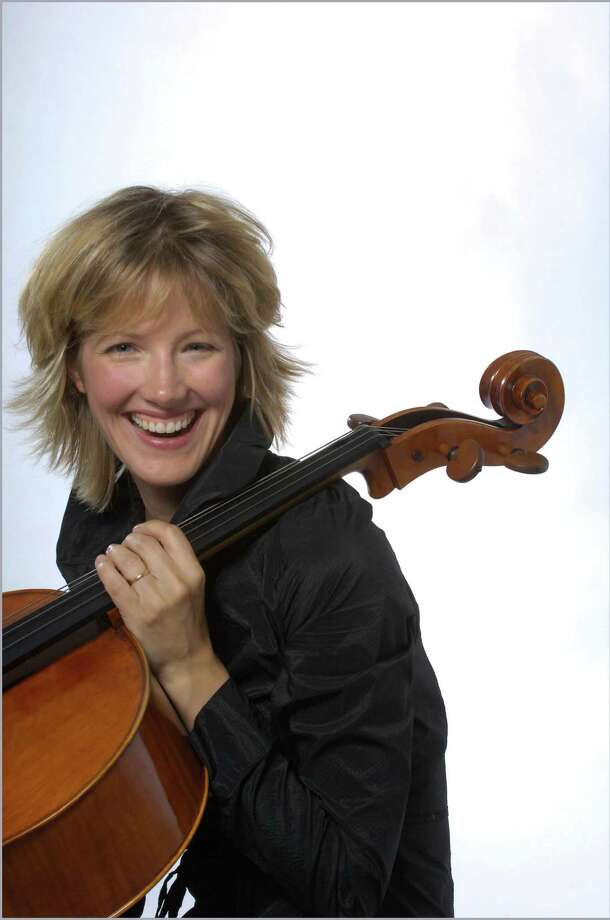 Cellist Caroline Stinson, pictured, will be the featured soloist for two concerts of the Stamford Symphony, Feb. 8 and 9, 2014. The event also will feature a guest conductor, Eckehard Stier. For information on tickets, visit www.stamfordsymphony.org. Photo: Contributed Photo / Stamford Advocate Contributed
