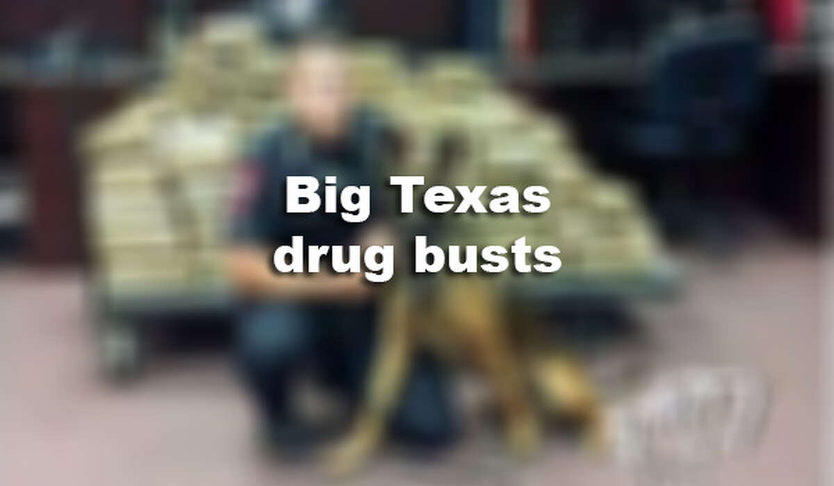 Marijuana, meth and more. Check out some of the biggest drug seizures and arrests in recent years.