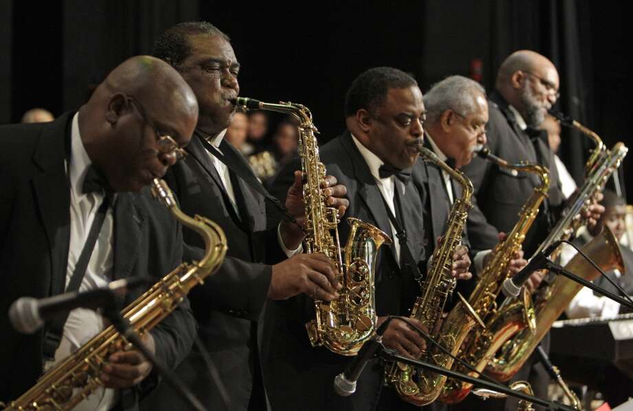 May 29:Kashmere Reunion Stage Band, Peterson Brothers Photo: Melissa Phillip, Houston Chronicle