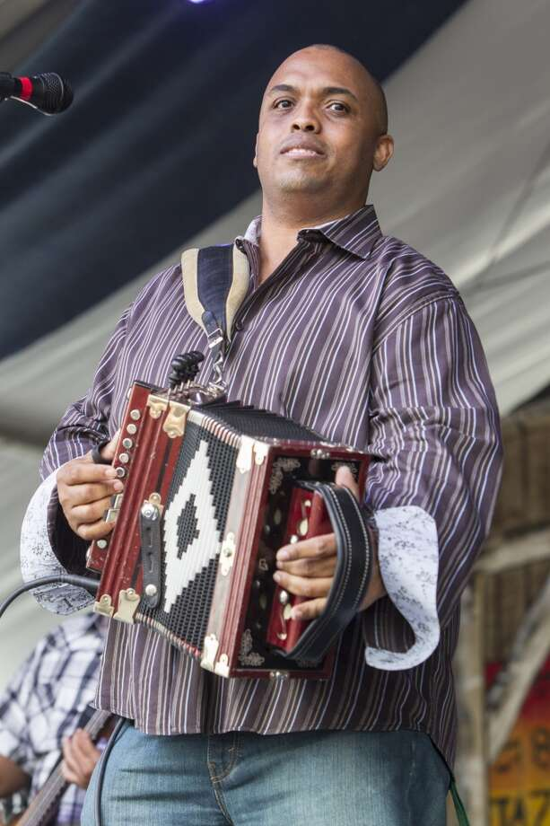 June 12:Corey Ledet and His Zydeco Band, the Zydeco Dots Photo: Skip Bolen, WireImage