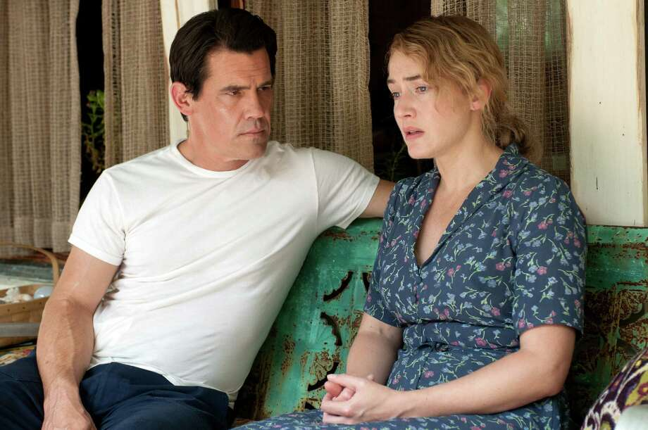 "This image released by Paramount Pictures shows Josh Brolin, left, and Kate Winslet in a scene from ""Labor Day."" (AP Photo/Paramount Pictures, Dale Robinette)  ORG XMIT: NYET126 Photo: Dale Robinette / Paramount Pictures"