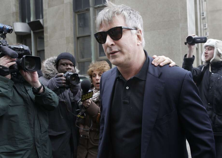 Actor Alec Baldwin was supposed to host his own show on MSNBC, but he blew it after directing an anti-gay slur at a photographer in New York. Then network quickly pulled the plug on his Friday night show. Photo: Seth Wenig, Associated Press