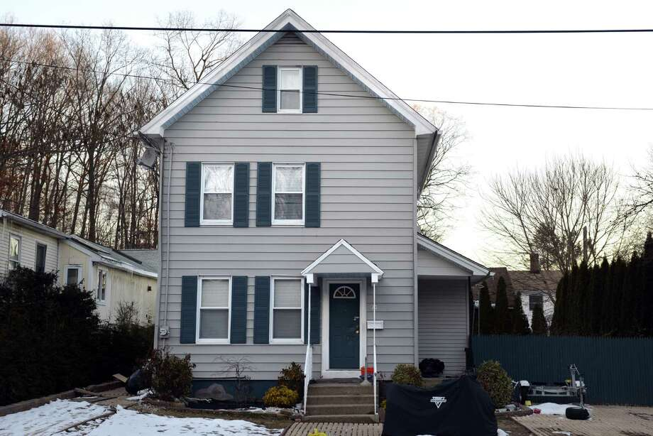 A house at 70 Dwight St. in Ansonia, Conn. was the site of a large drug bust. Photo: Autumn Driscoll / Connecticut Post