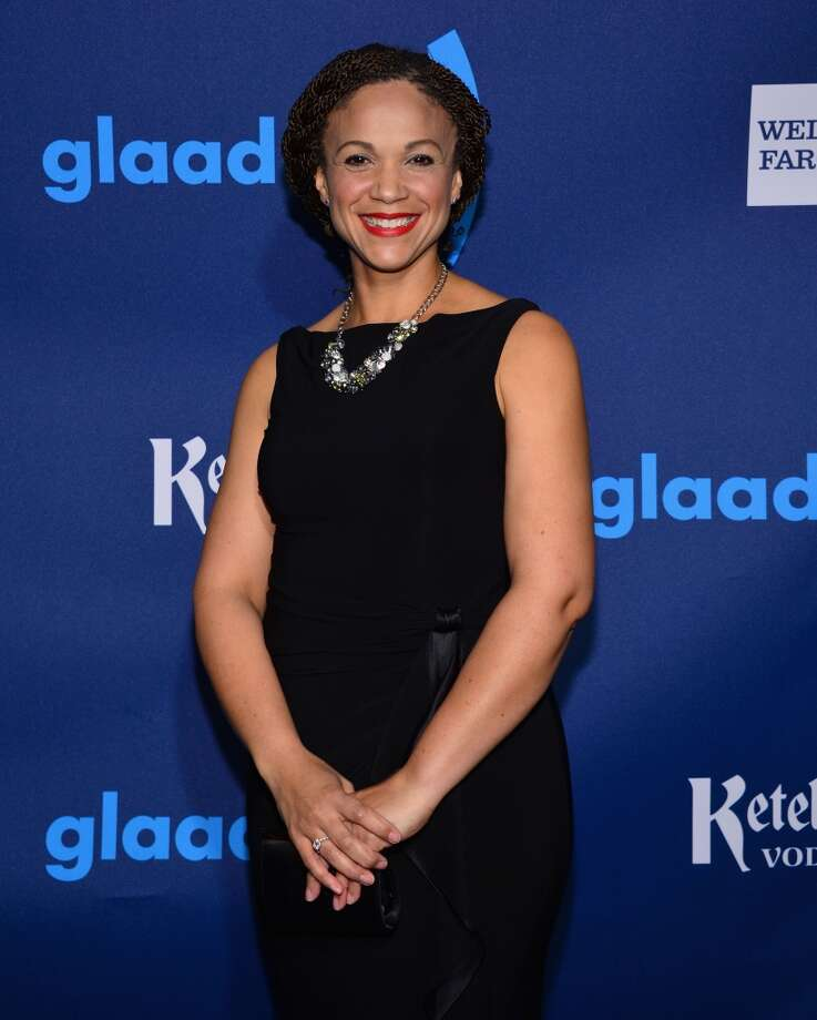 MSNBC host Melissa Harris-Perry issued a tearful apology in the wake of joking comments she made about Mitt Romney's adopted, African-American grandson. Photo: Larry Busacca, Getty Images For GLAAD