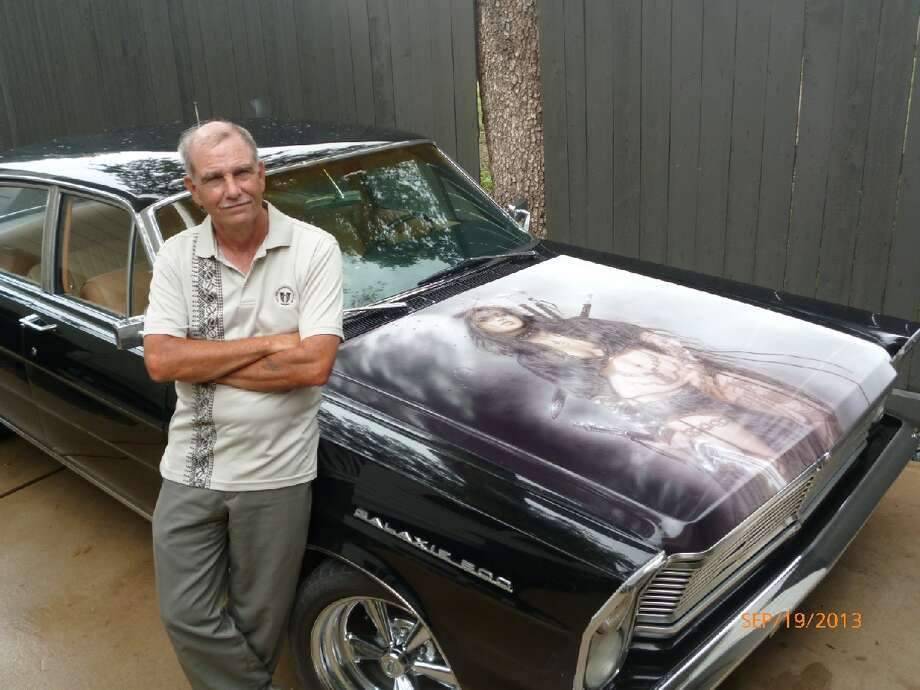 Tom Schmal customized this 1965 Ford Galaxie to his liking with a combination of classic sensibilities, custom artwork and modern amenities.