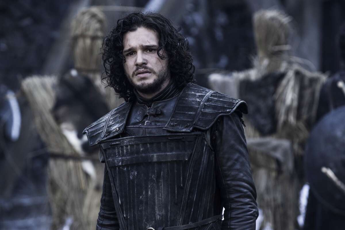 And now for a look at some of the characters who are dead (or at least rumored to be dead, you never know), including Jon Snow, as played by Kit Harington.
