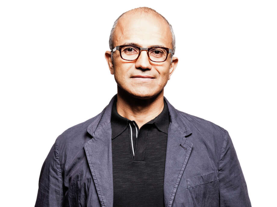 Satya Nadella, executive vice president of Microsoft's Cloud and Enterprise group, responsible for building and running the company's computing platforms, developer tools and cloud services. Photo: Photographer: Brian Smale, Microsoft