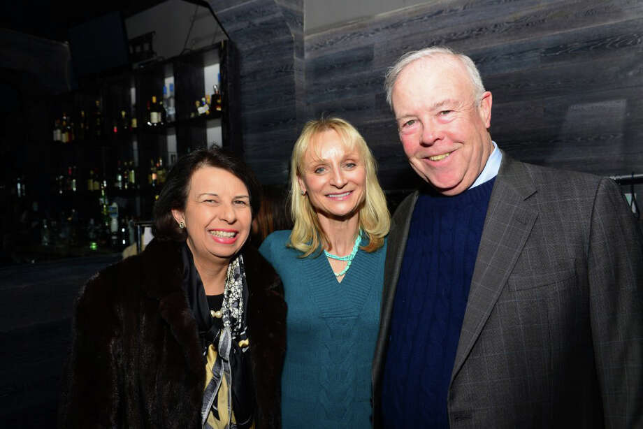 The Greenwich Chamber of Commerce held a networking event on Wednesday with members of the business community at Blackstones. Photo: Contributed Photo / Stamford Advocate Contributed