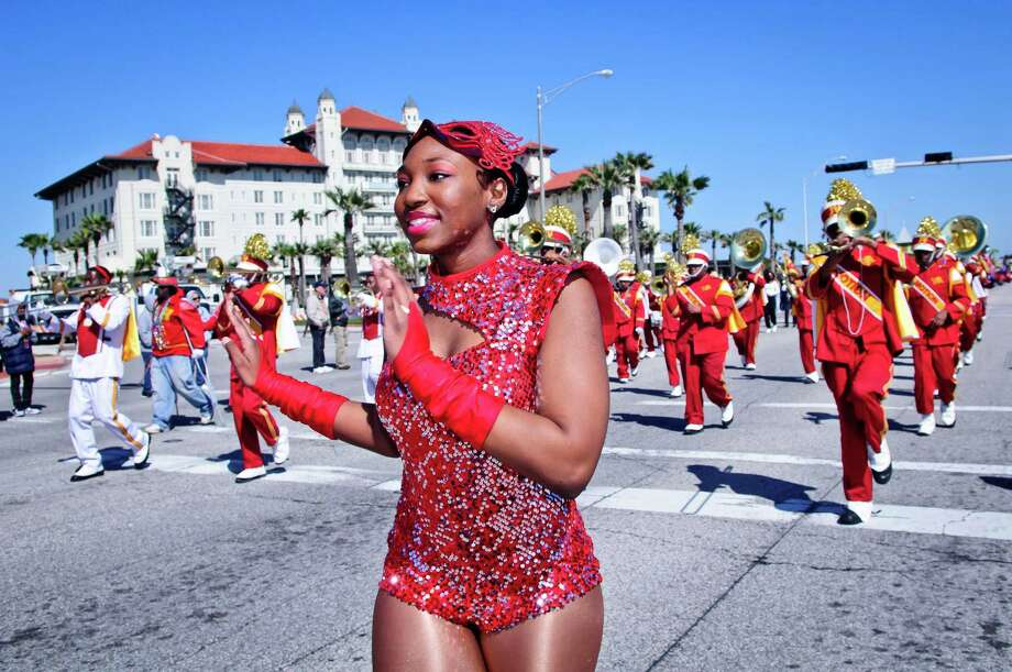 The two weeks of Mardi Gras festivities include 24 parades, five posh masked balls and 38 concerts. Parades take place along the Strand and the Seawall. Photo: Kim Christensen, Kim Christensen Photography / Kim Christensen Photography