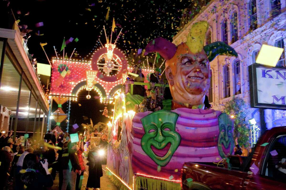 Galveston's Mardi Gras, this year Feb. 21-March 4, features events and parades on the Strand and the Seawall.