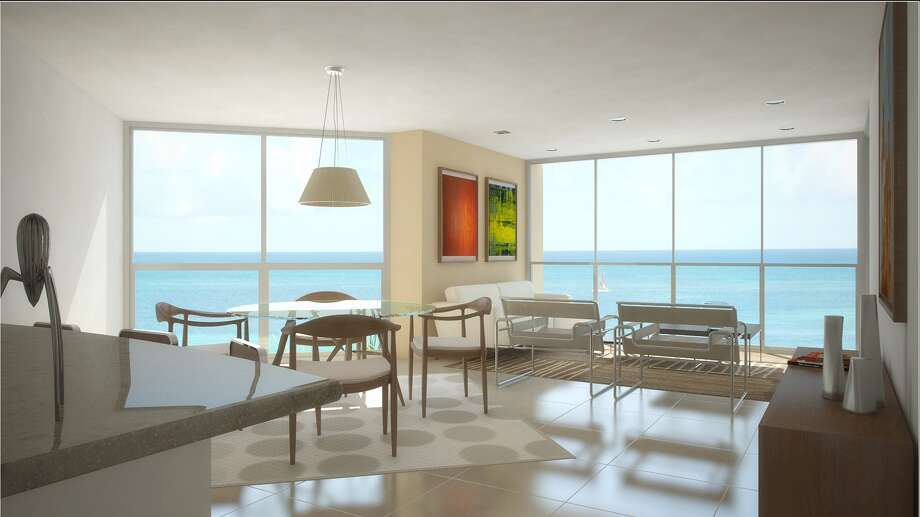Blue Residences resort in Aruba will debut the first of its three towers to guests on March 1. / Blue Residences