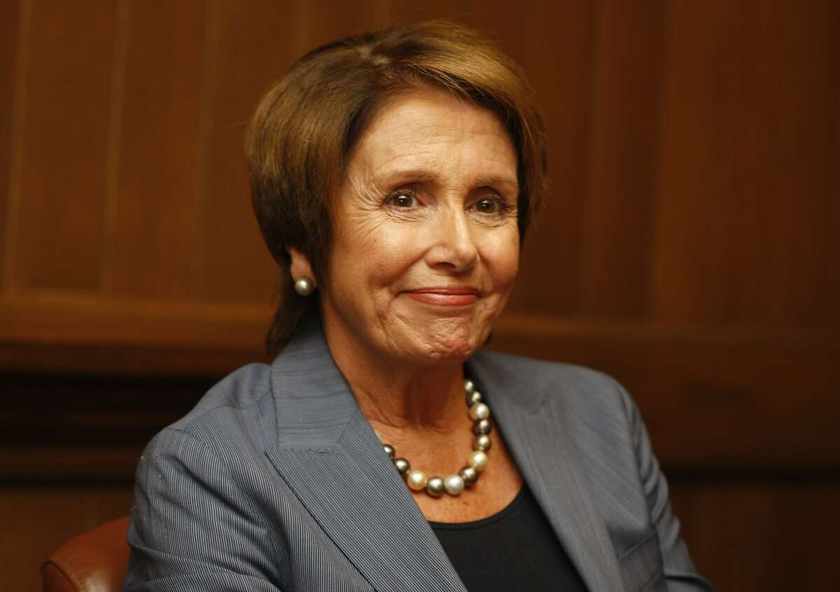 House Minority Leader Nancy Pelosi speaks in the editorial boardroom of The Chronicle in San Francisco, Calif., on Monday, January 6, 2014.