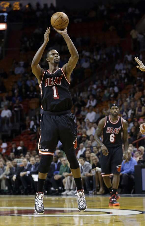 Eastern Conference reserve  Chris Bosh Miami Heat - forward Photo: Alan Diaz, Associated Press