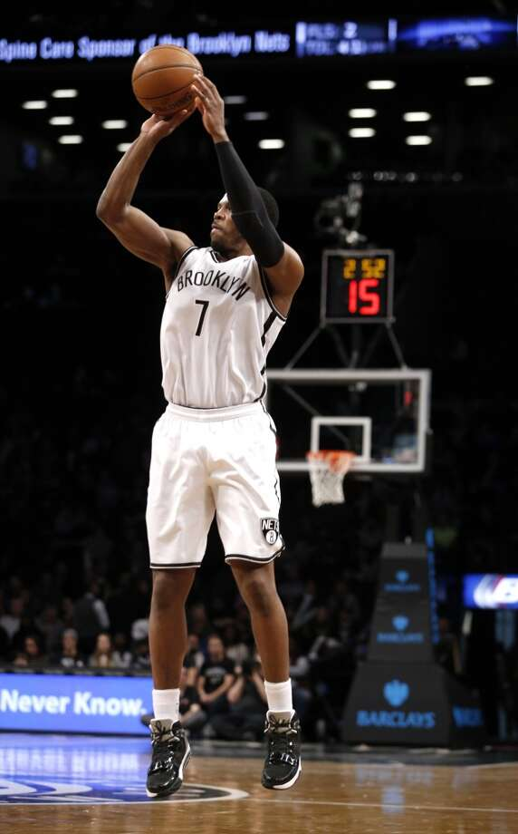 Eastern Conference reserve  Joe Johnson Brooklyn Nets - guard Photo: Kathy Willens, Associated Press