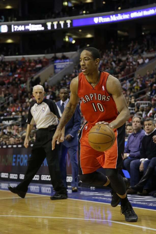 Eastern Conference reserve  DeMar DeRozan Toronto Raptors - forward Photo: Matt Slocum, Associated Press