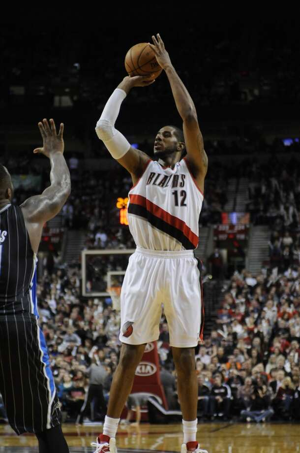 Western Conference reserve  LaMarcus Aldridge Portland Trail Blazers - forward Photo: GREG WAHL-STEPHENS, Associated Press