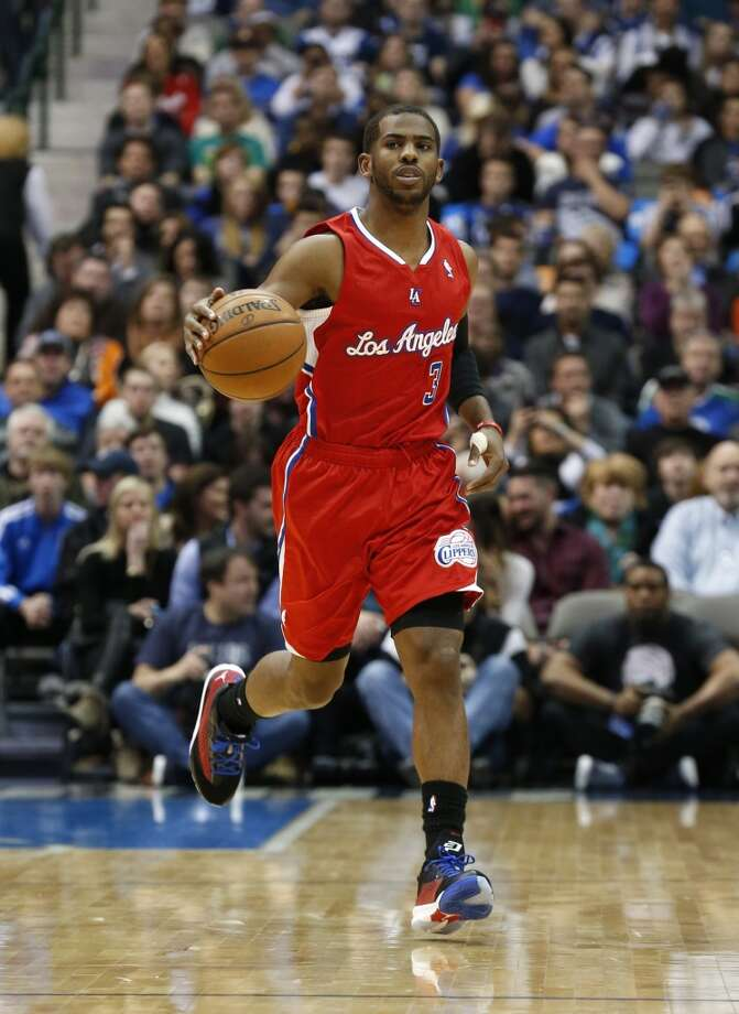 Western Conference reserve  Chris Paul Los Angeles Clippers - guard Photo: Sharon Ellman, Associated Press