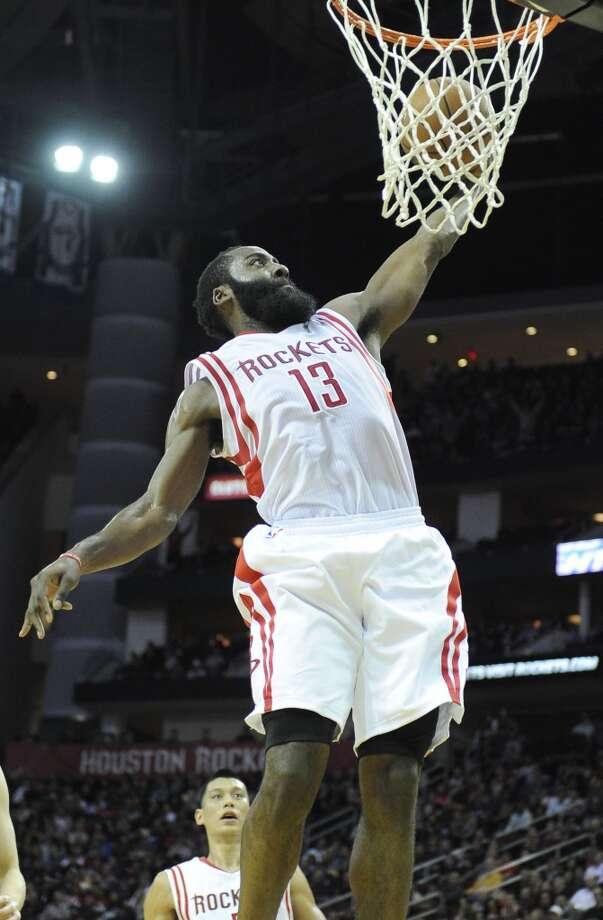 Western Conference starterJames Harden Houston Rockets - guard (replaces injured Kobe Bryant) Photo: Pat Sullivan, Associated Press