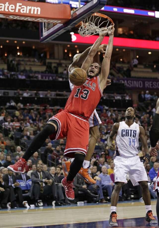 Eastern Conference reserve  Joakim Noah Chicago Bulls - center Photo: Chuck Burton, Associated Press