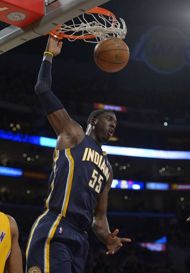 Eastern Conference reserve  Roy Hibbert Indiana Pacers - center Photo: Mark J. Terrill, Associated Press