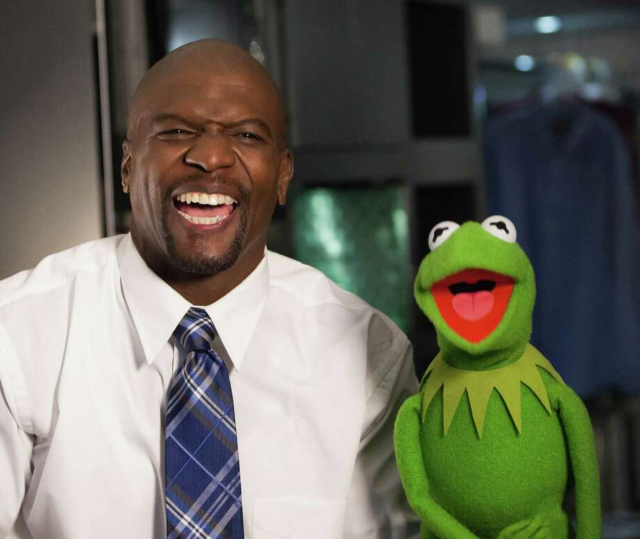 Terry Crews joins Kermit and his fellow Muppets in a Toyota Super Bowl ad that promises to be a favorite of the night. Photo: Toyota / San Antonio Express-News