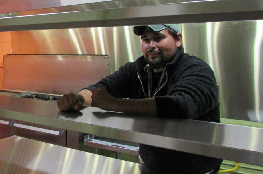 Jose Cruz is the owner and cook at the new Senor Veggie, which opened Jan. 31 in Southtown. Photo: Burt Henry, Burt Henry / Express-News
