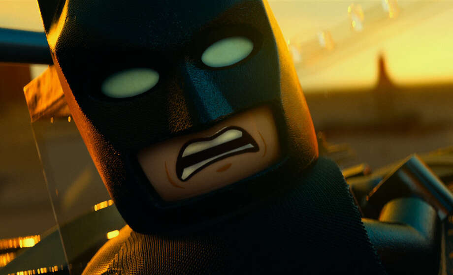 "Batman also wore the cape and cowl as a Lego in ""The Lego Movie."" Photo: Warner Bros. / San Antonio Express-News"