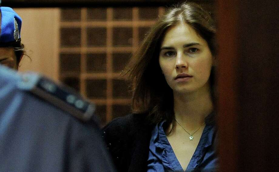 An appeals court in Florence upholds the guilty verdict of murder against Amanda Knox and her ex-boyfriend, Raphael Sollecito, for the 2007 killing of her British roommate in Italy. Photo: AFP / Getty Images File Photo / AFP