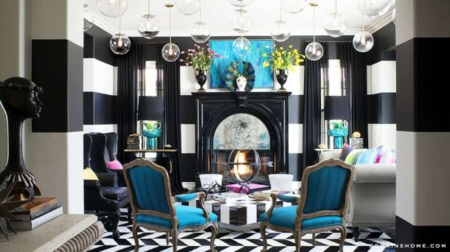 Shades of zebra. Images via Trulia and Domaine Home. Photography by Grey Crawford for Jeff Andrews Design