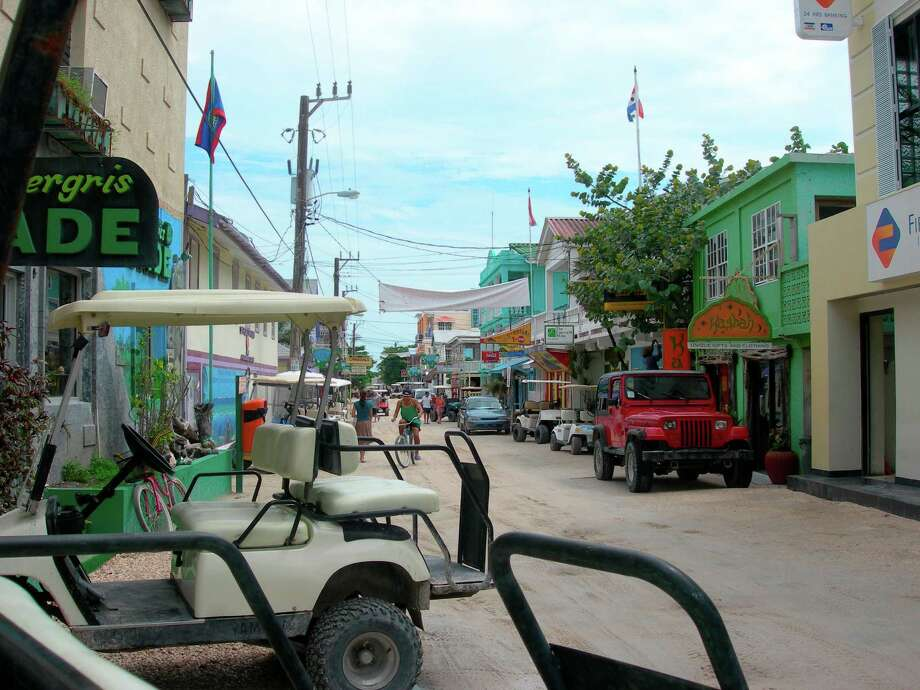 It's now Belize. Photo: Eileen McClelland / Houston Chronicle