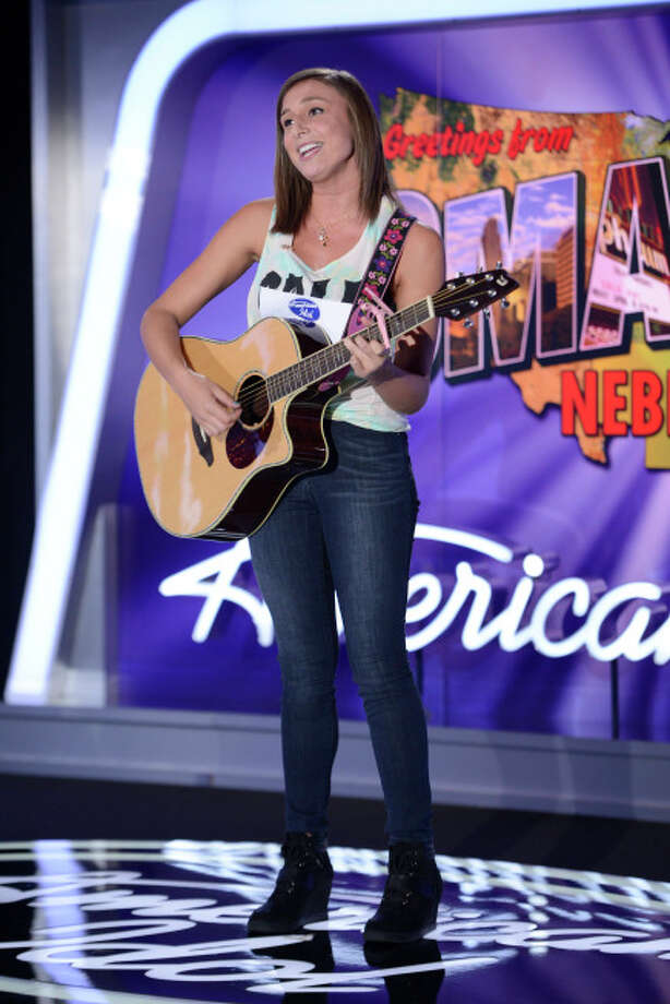 AMERICAN IDOL XIII: Omaha Auditions: Contestant Alyssa Siebken auditions in front of the judges on AMERICAN IDOL XIII airing Thursday, Jan. 30 (8:00-10:00 PM ET/PT) on FOX. CR: Michael Becker / FOX. Copyright 2014 FOX BROADCASTING.