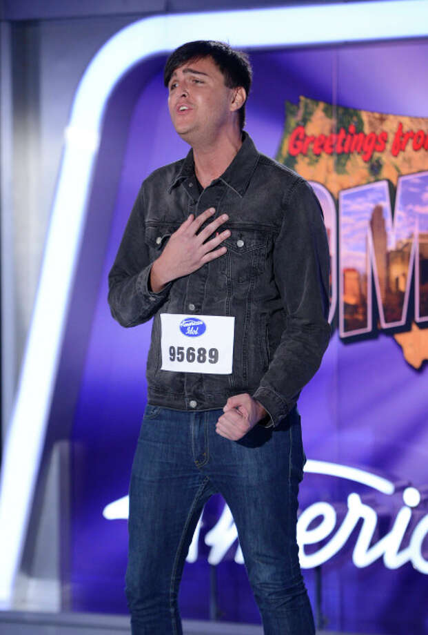 AMERICAN IDOL XIII: Omaha Auditions: Contestant Tyler Gurwicz auditions in front of the judges on AMERICAN IDOL XIII airing Thursday, Jan. 30 (8:00-10:00 PM ET/PT) on FOX. CR: Michael Becker / FOX. Copyright 2014 FOX BROADCASTING.