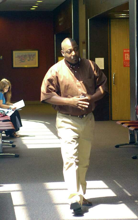 Derrick Newman arrives at the Criminal District Courtroom in 2011. Photo: Enterprise archives. / Beaumont