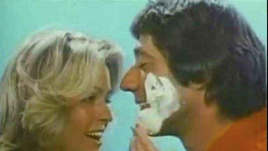 Farrah Fawcett: The Charlie's Angels star made Joe Namath one happy guy in this 1970s Noxema commercial. Watch it here. Photo: Noxema / Noxema