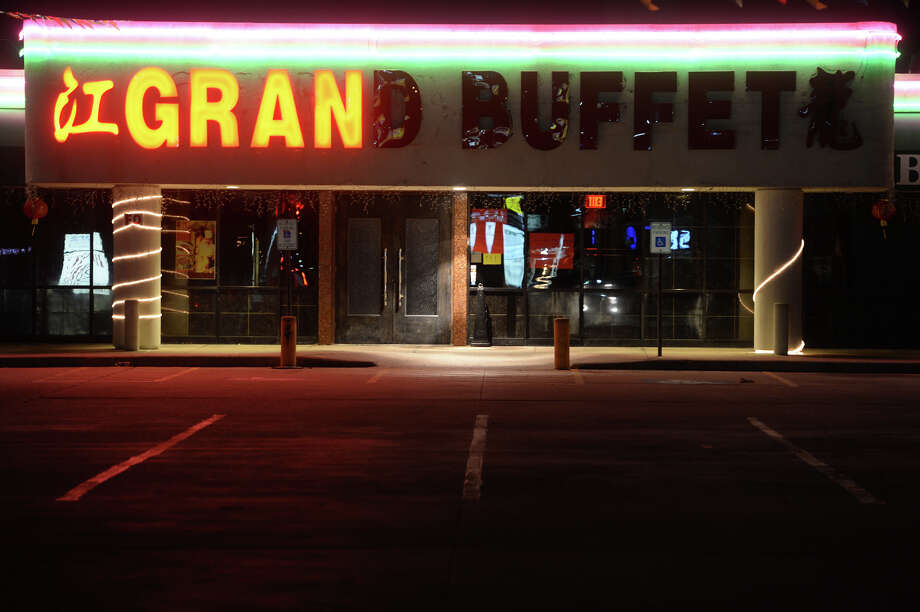 The Grand Buffet was one of two Port Arthur Chinese restaurants listed in the Homeland Security's indictment for allegedly employing illegal aliens. Photo taken Thursday, January 30, 2014 Guiseppe Barranco/@spotnewsshooter Photo: Guiseppe Barranco, Photo Editor
